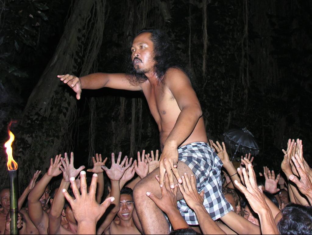 monkey dance Bali