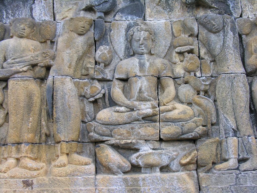 Borobudur carvings