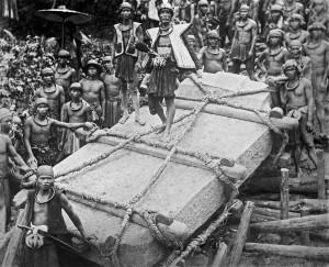 Nias Sumatra monolith