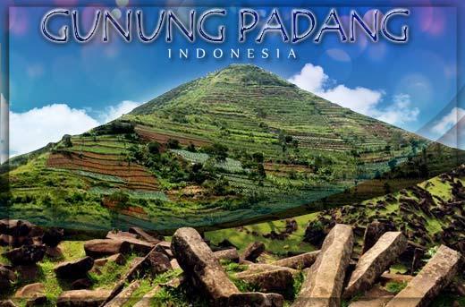 gunung padang Java Indonesia
