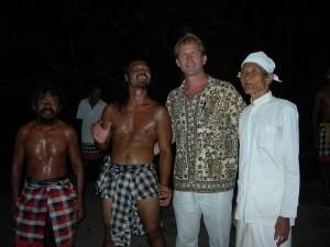 Bali monkey dance
