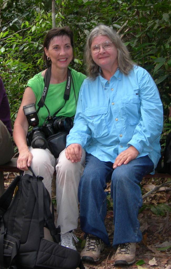 Birute Galdikas at Camp Leakey