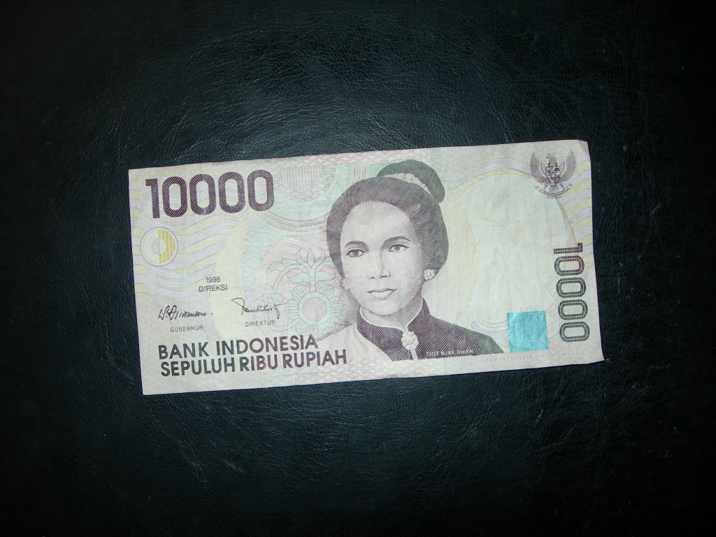 rupia Indonesia currency