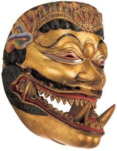Indonesia mask